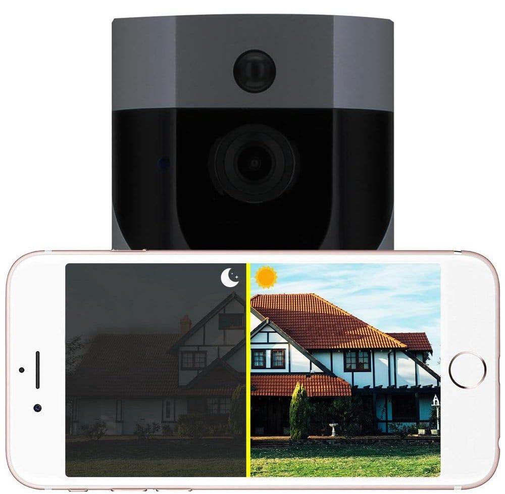 Looki X6 Draadloze Camera Met Smartphone Ervoor