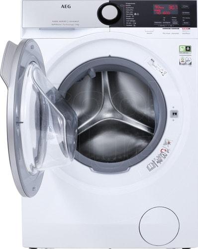 Aeg wasmachine met open deur