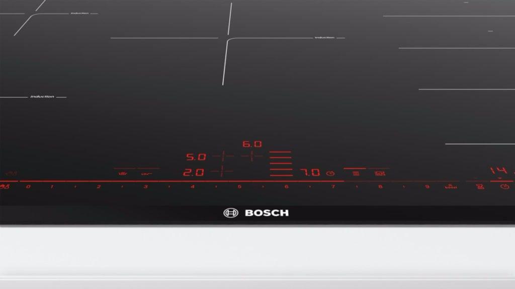 Bosch inductie-kookplaat bovenaanzicht