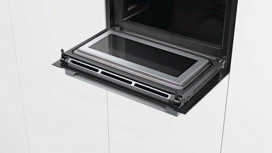 Bosch oven met open deur