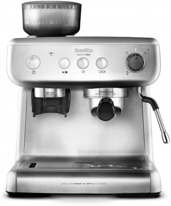 Breville koffiemachine vooraanzicht