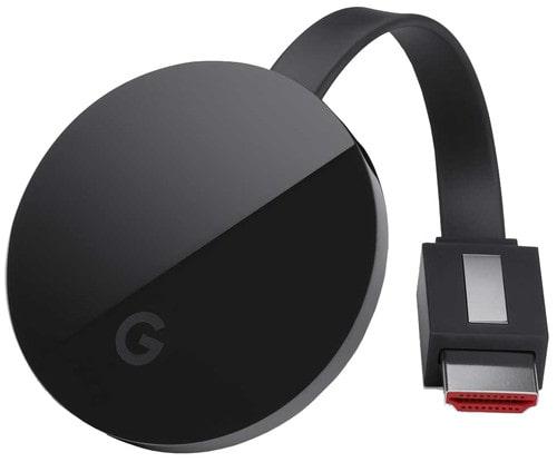Chromecast vooraanzicht