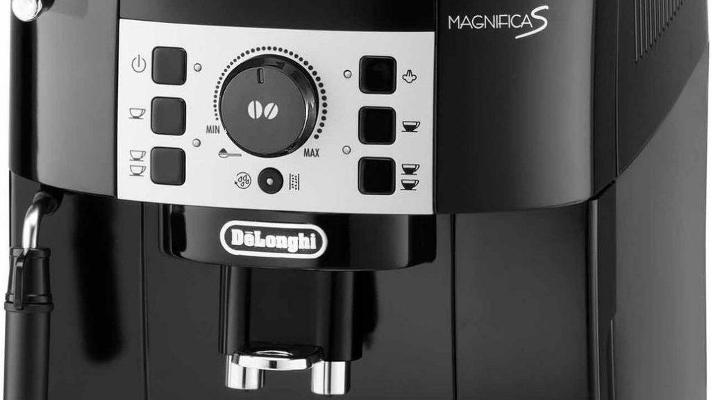 Bediening van De'Longhi koffiemachine
