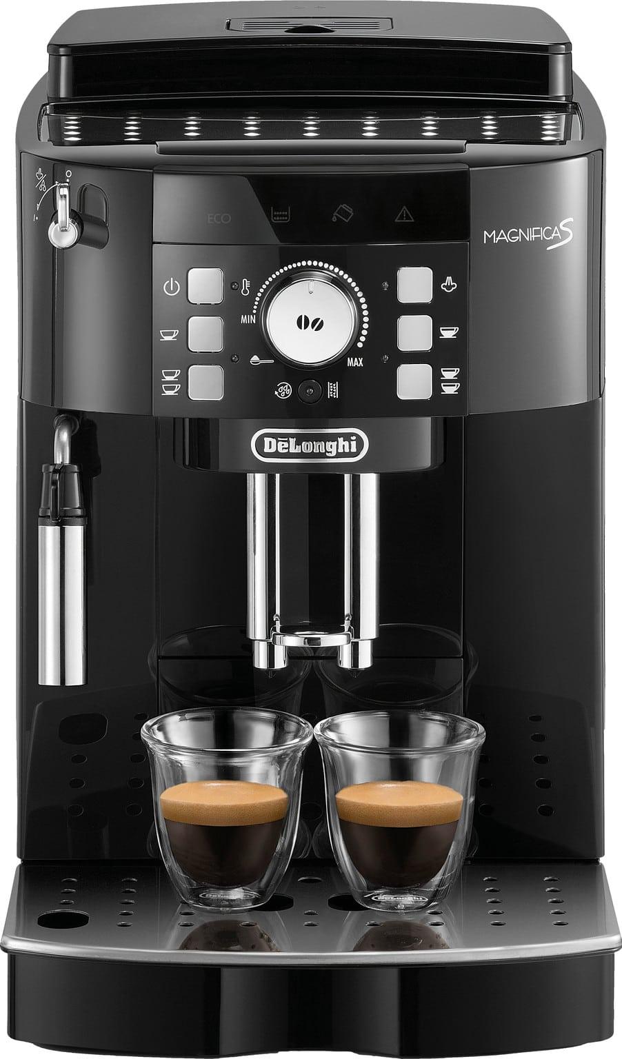 De'longhi Magnifica S Ecam 21.117.b Met Kopjes Koffie