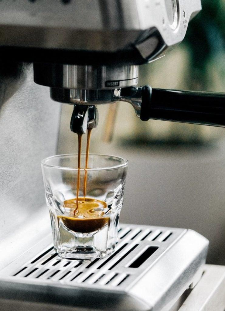 Espresso in de maak