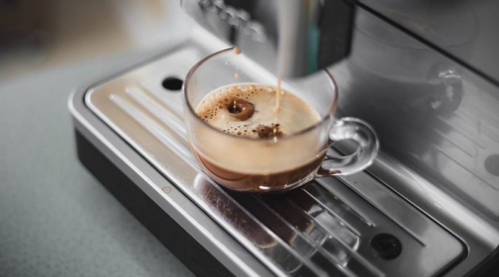 Koffie uit volautomaat