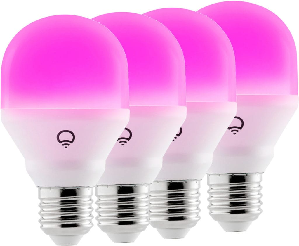 Roze LIFX lampen