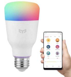 Xiaomi Yeelight lamp vooraanzicht