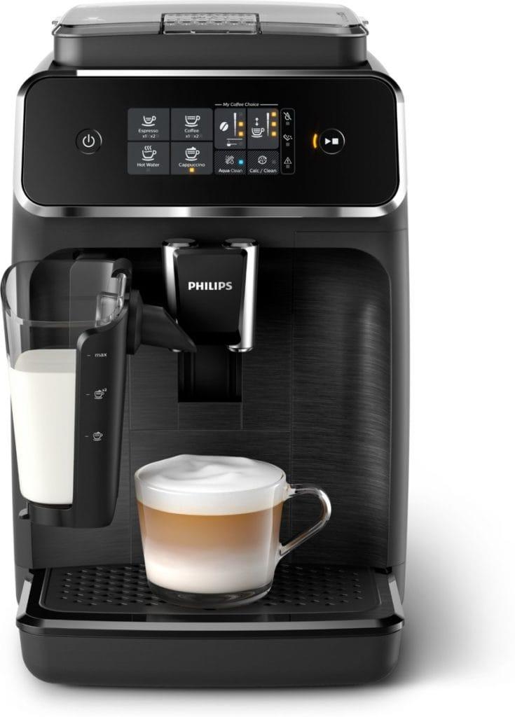 Philips 2200 serie koffiemachine vooraanzicht