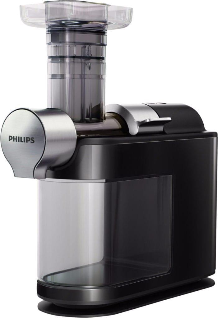 Philips juicer zij-aanzicht