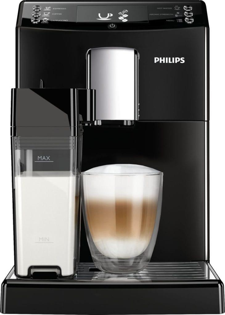 Philips 3100 serie koffiemachine, vooraanzicht