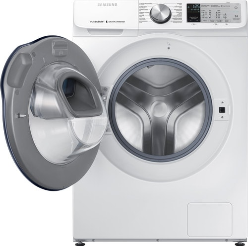 Samsung wasmachine met open deur