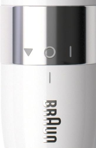 braun ladyshave face closeup