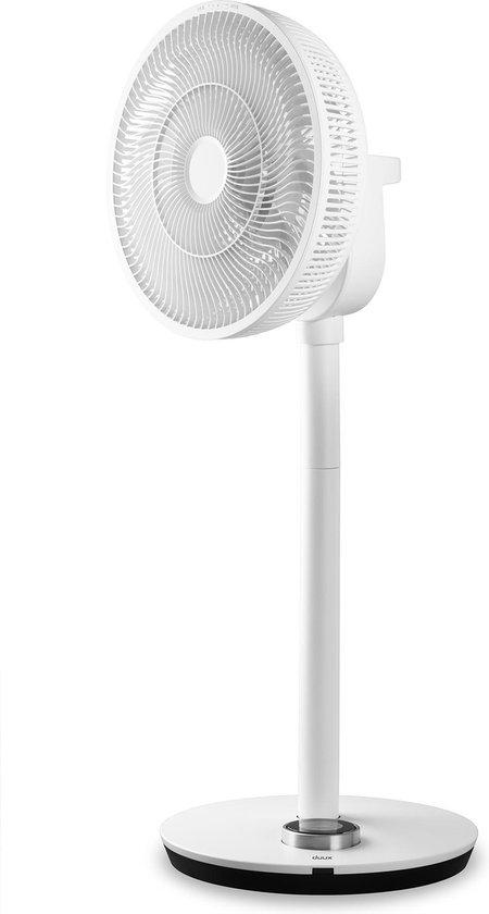 Witte ventilator vooraanzicht