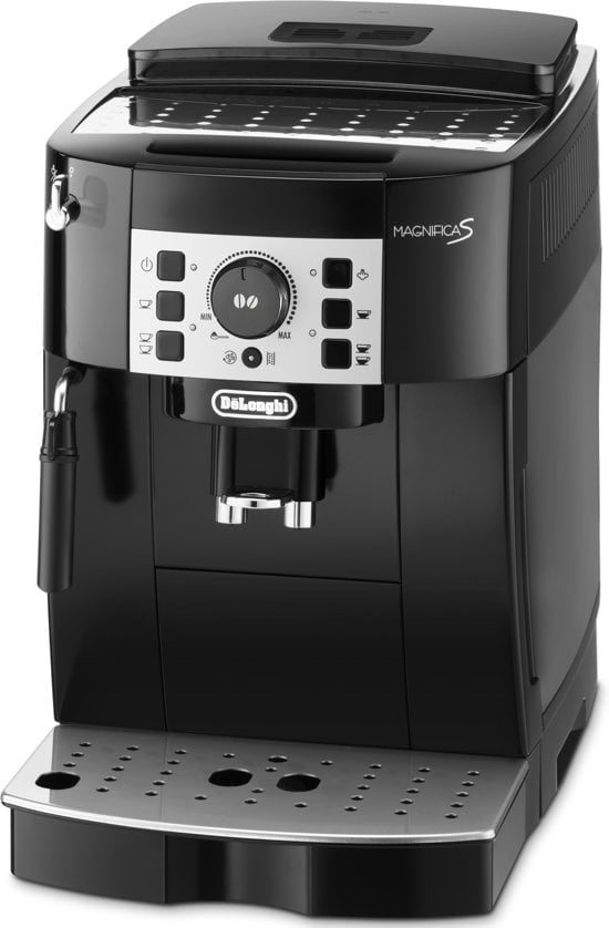 De'Longhi koffiemachine vooraanzicht