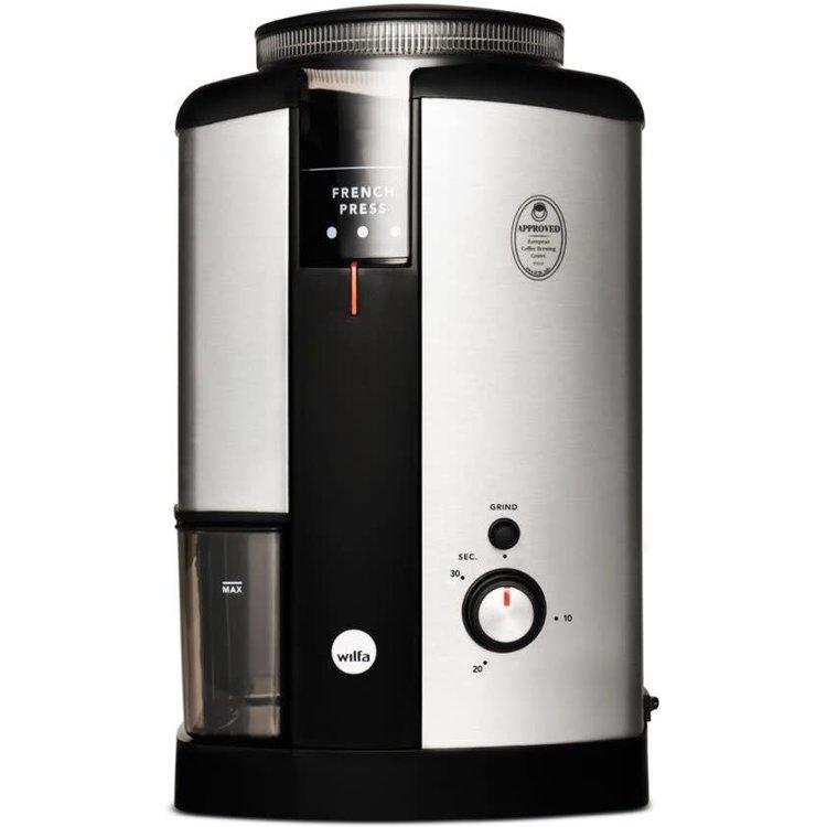 Wilfa koffiemolen vooraanzicht