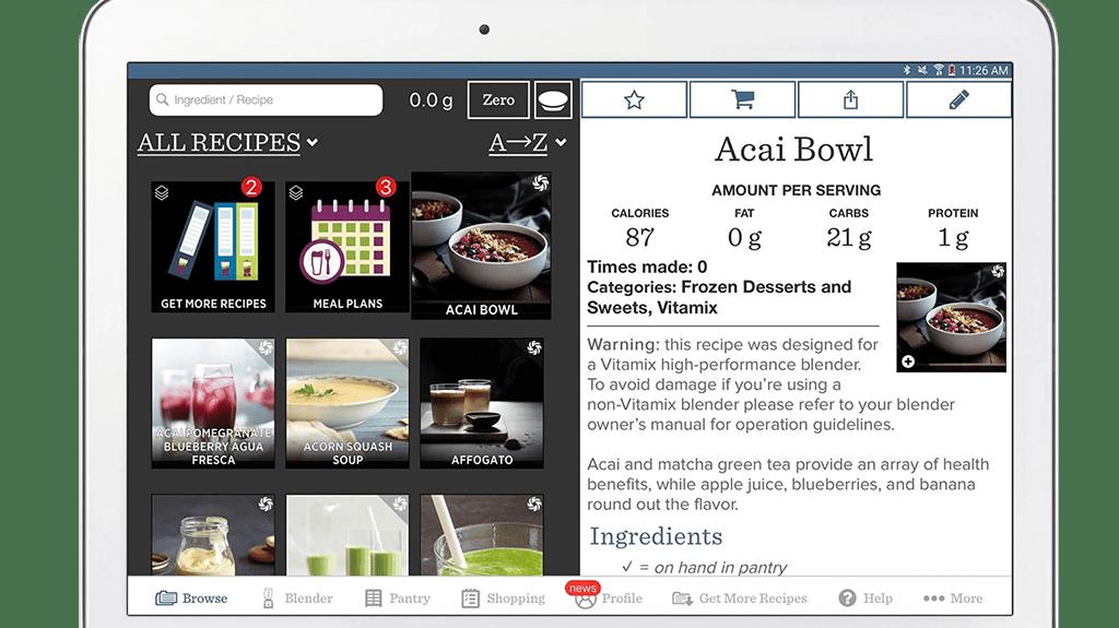 App demo op tablet