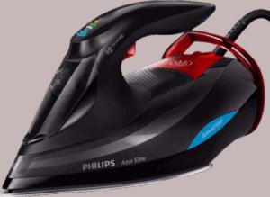 Philips strijijzer zij-aanzicht