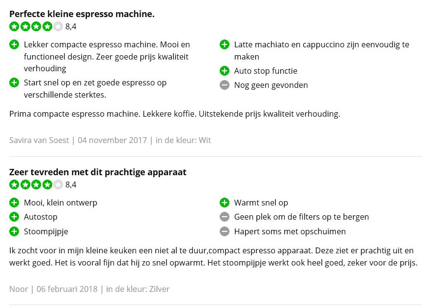 Reviews (tekst)