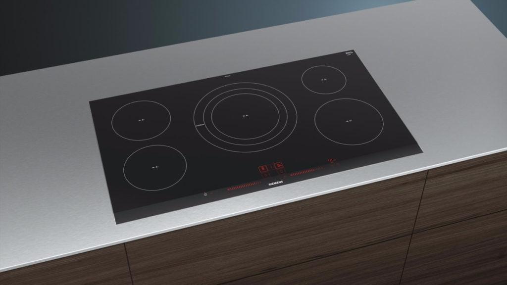 Siemens kookplaat bovenaanzicht