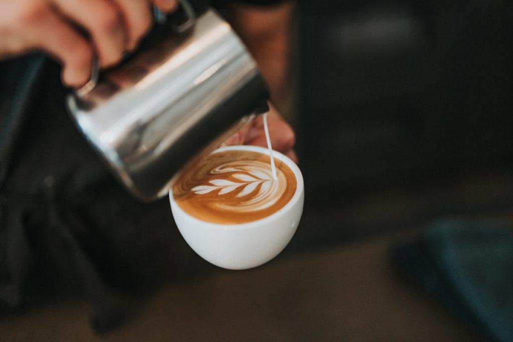 Latte art in wording