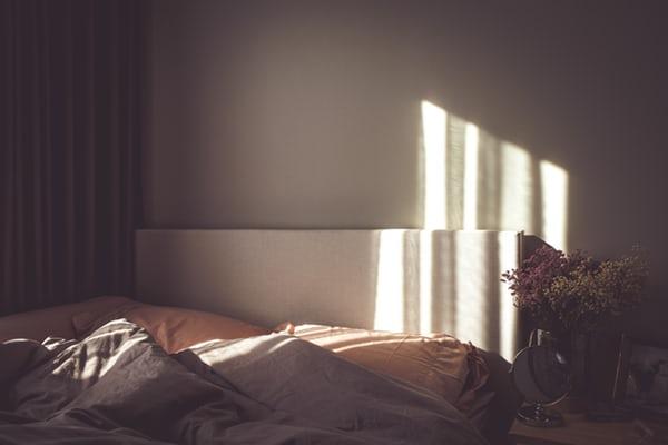 Zon Op Bed