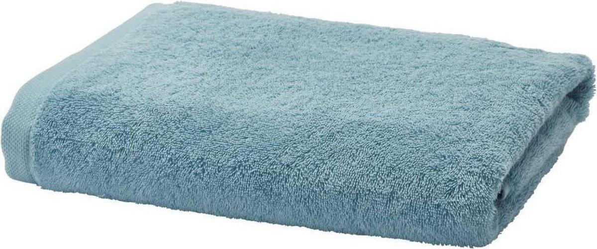 Aquanova handdoek, vooraanzicht, blauw
