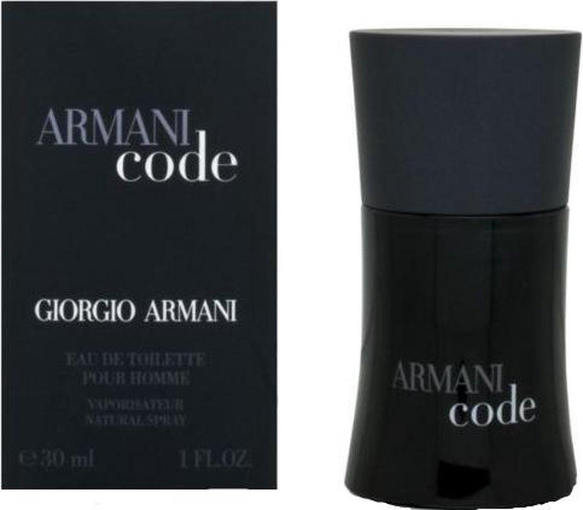 Armani Code vooraanzicht