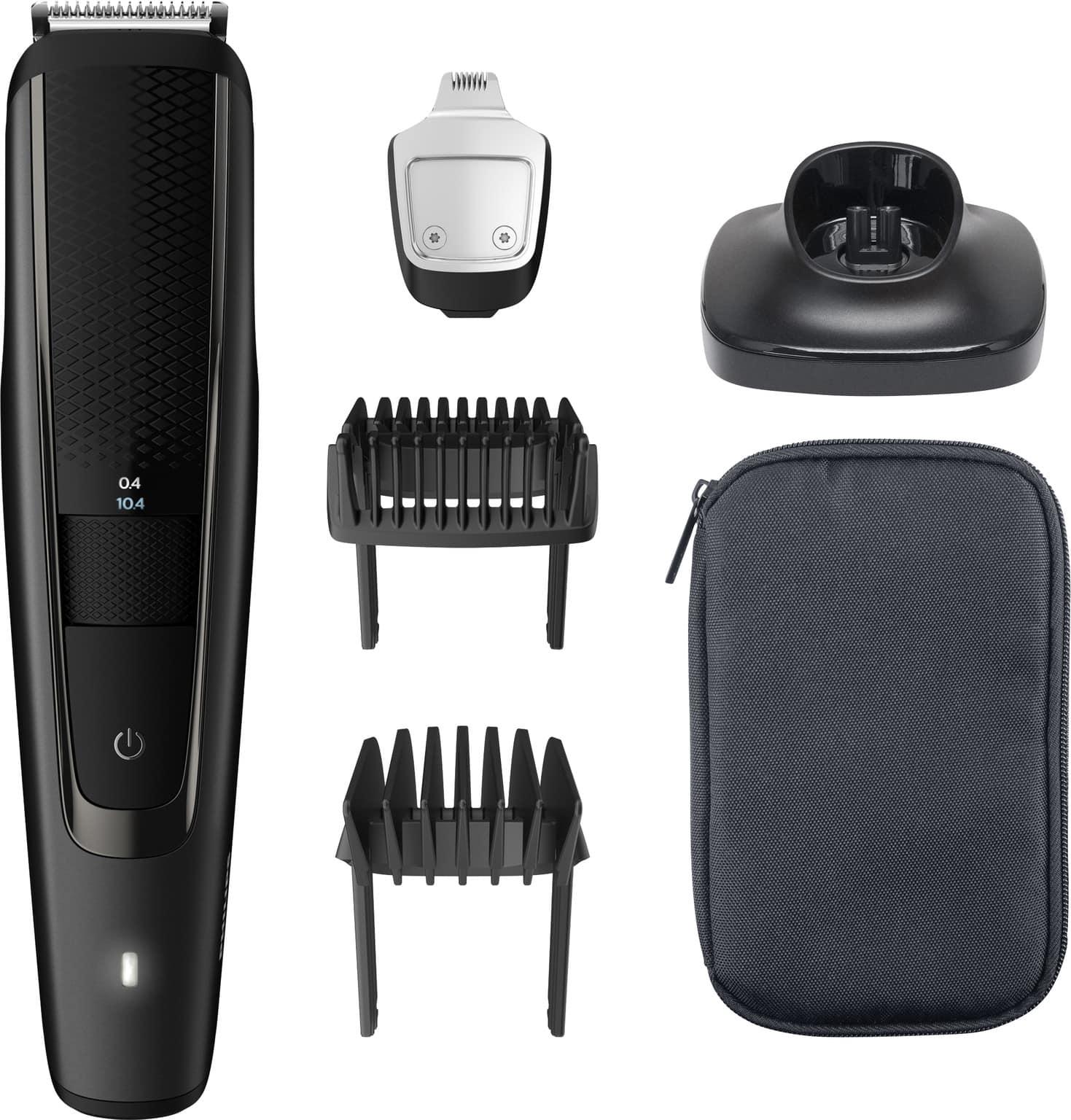 Philips Bt551515 met accessoires, bovenaanzicht