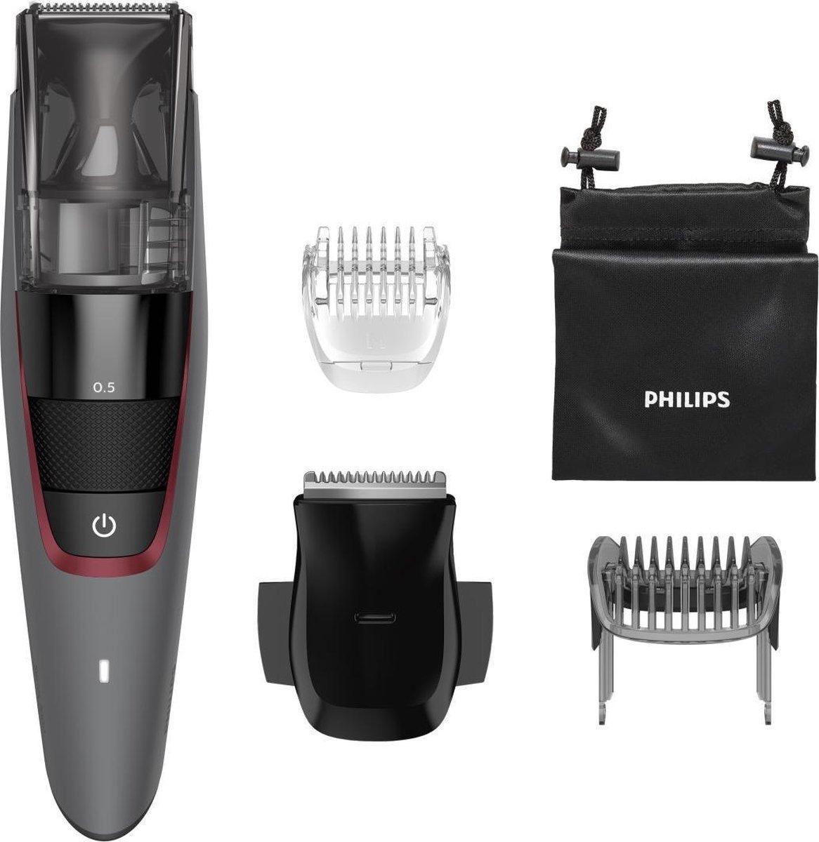 Philips baardtrimmer met accessoires