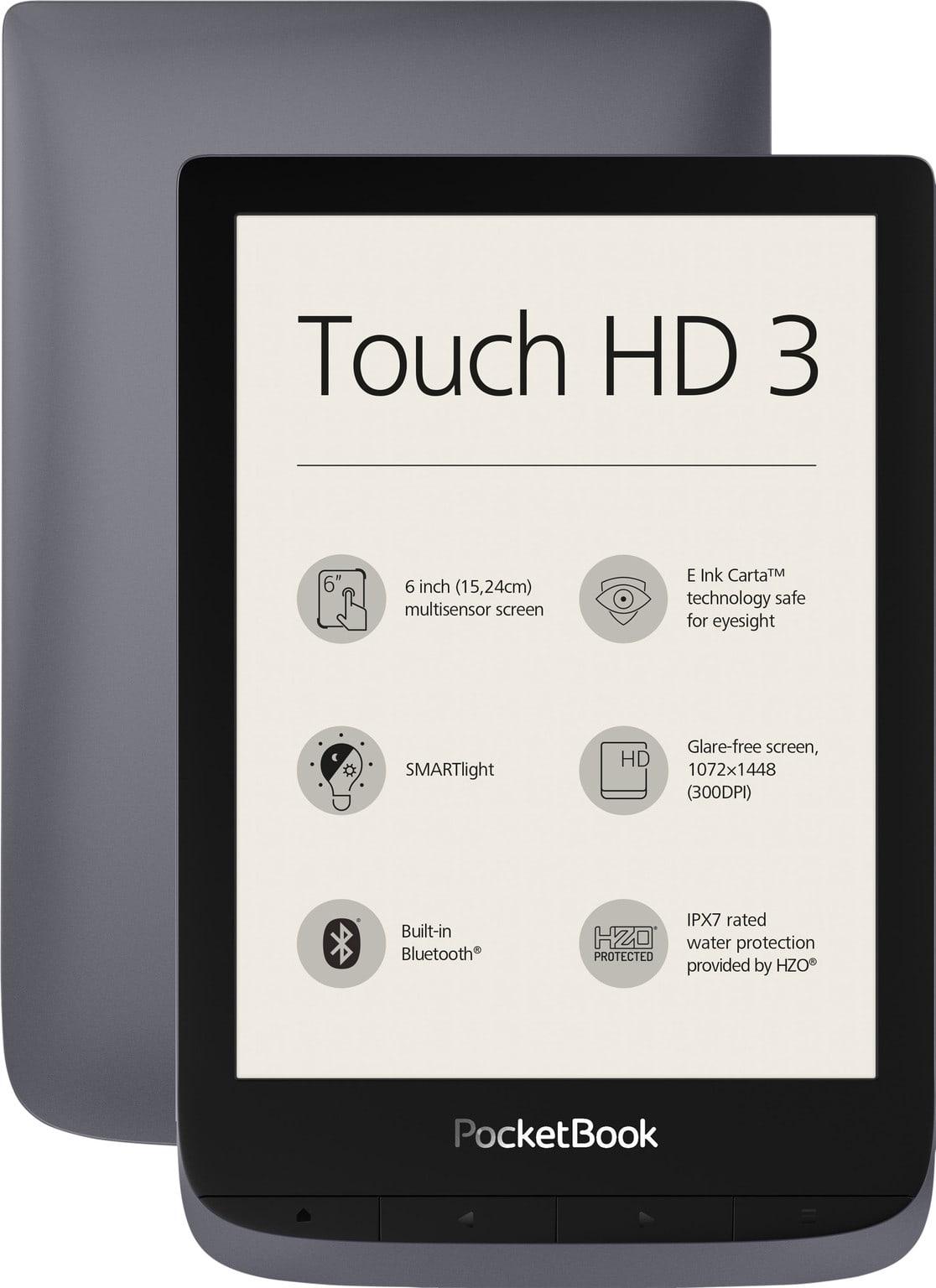 Pocket Touch Hd 3 Grijs vooraanzicht