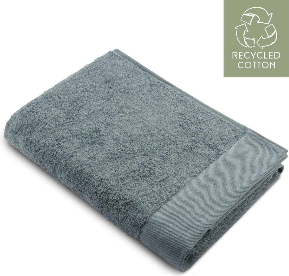 Walra Handdoek Grijs, bovenaanzicht