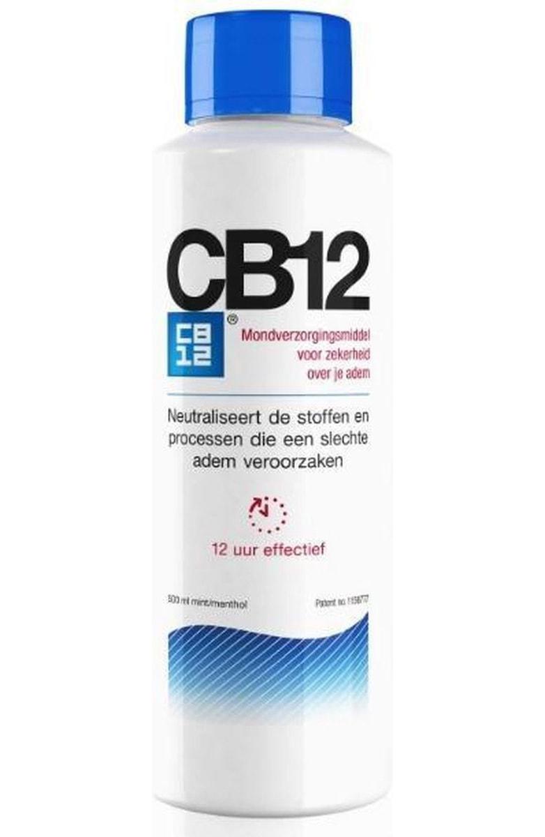 cb12 fles van voren