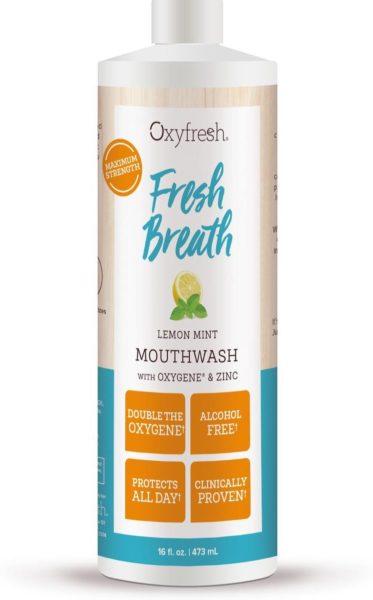 OxyFresh mondwater, vooraanzicht