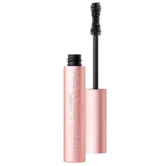 mascara in roze tube van too faced