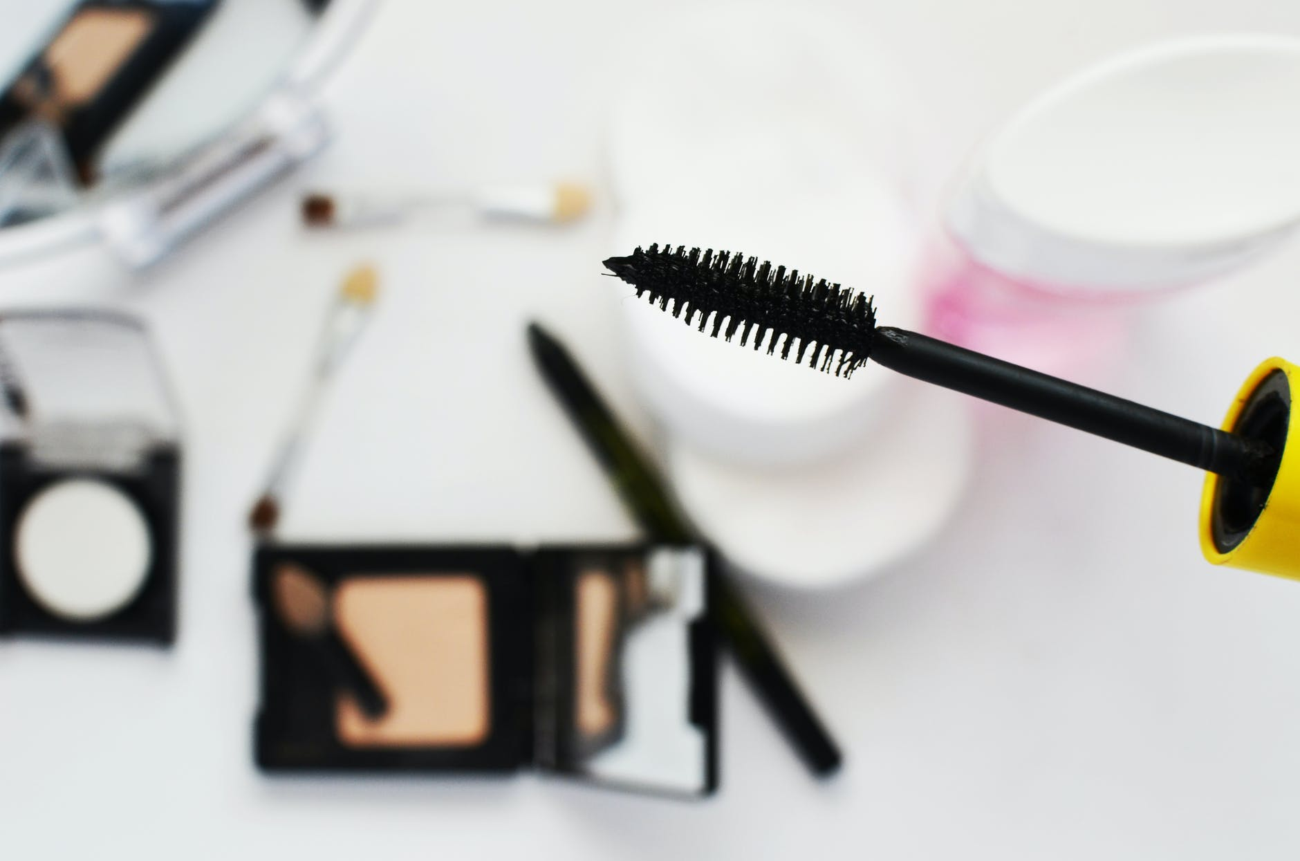 mascara en make-up producten