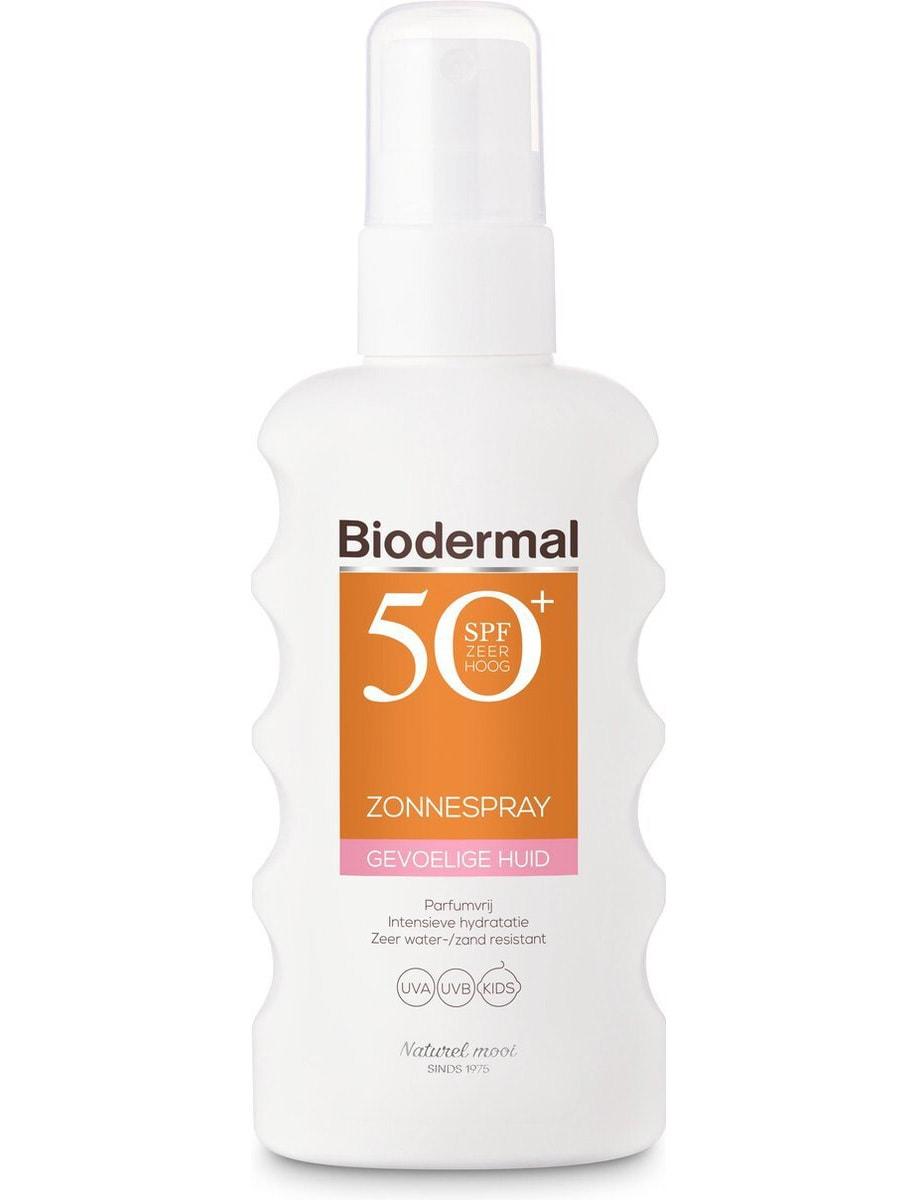 Biodermal gevoelige huid, vooraanzicht
