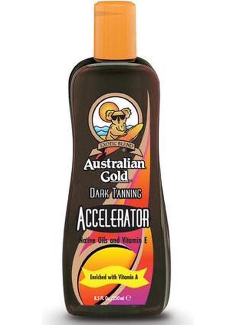 australian gold dark tanning accelerator fles