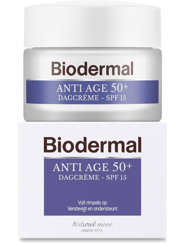 Biodermal anti-rimpel creme met doosje, vooraanzicht