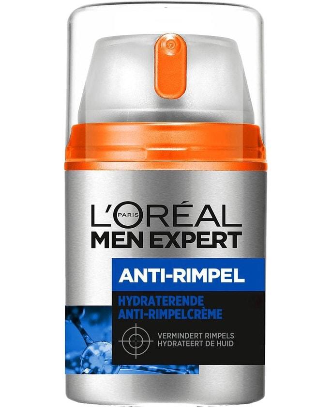l'oreal men expert anti rimpelcrème flesje