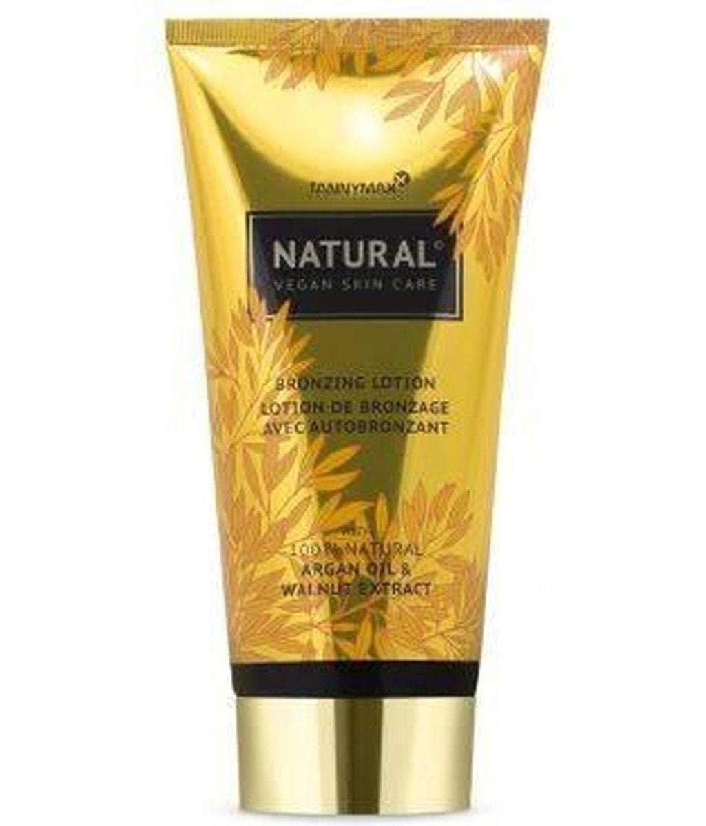 natural bronzing lotion tube