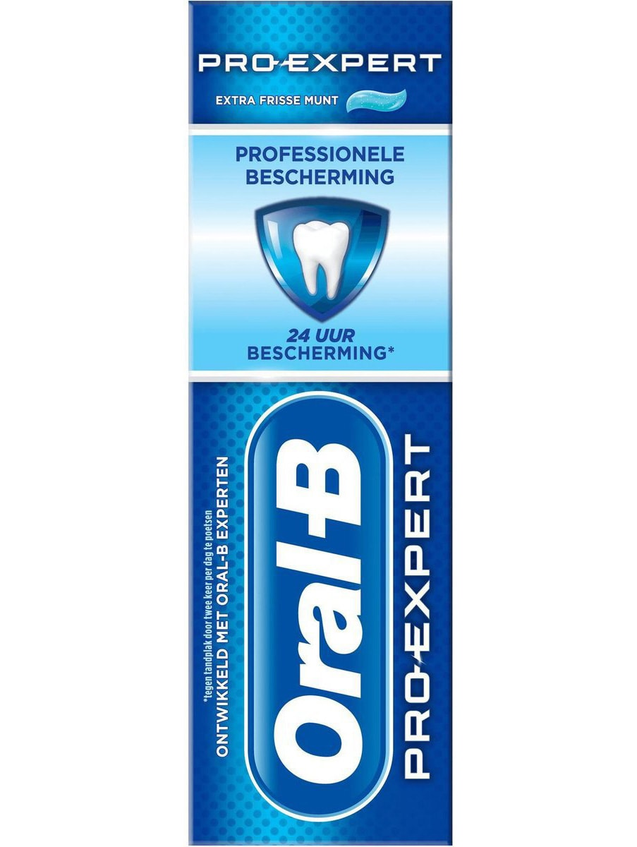 oral b pro expert doosje van voren