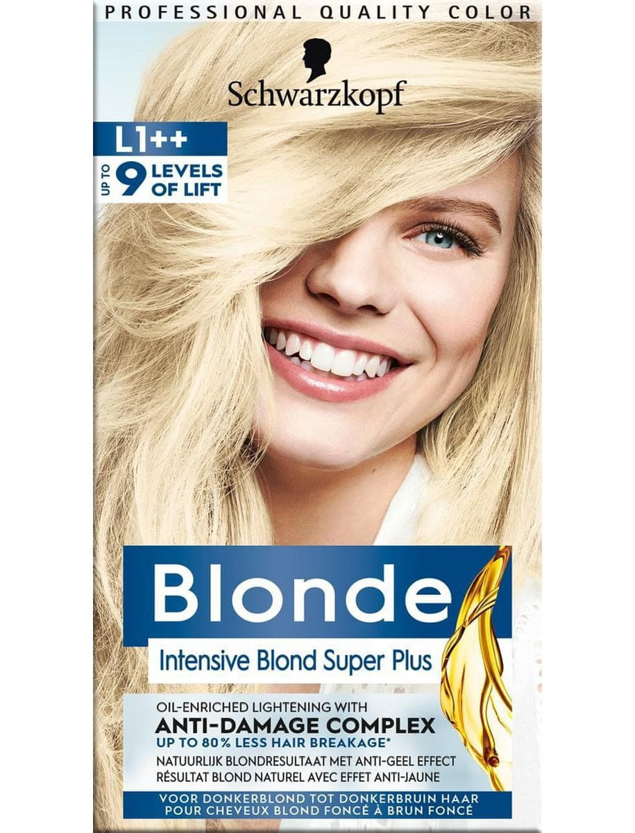 poly blonde intensive bond superplus