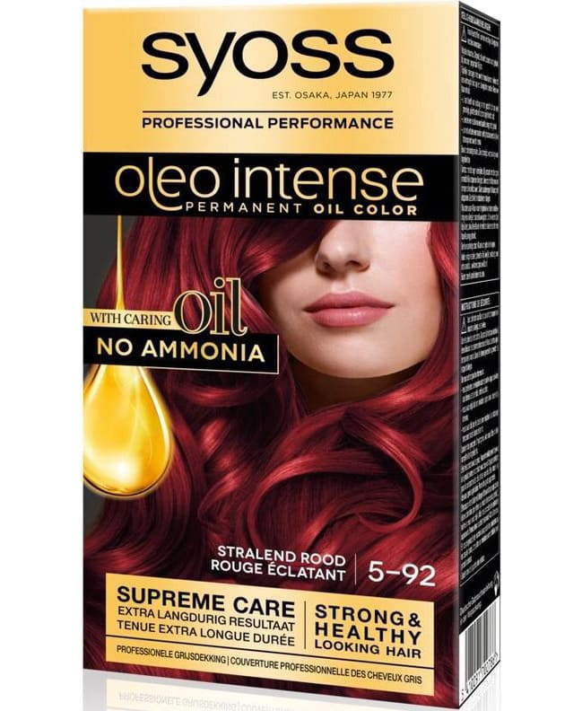 syoss color oleo intense 5 92 stralend rood