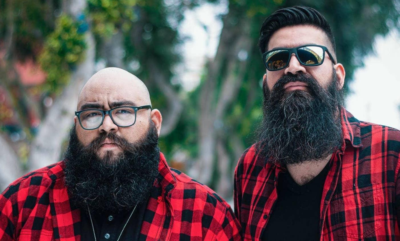 twee mannen met baard