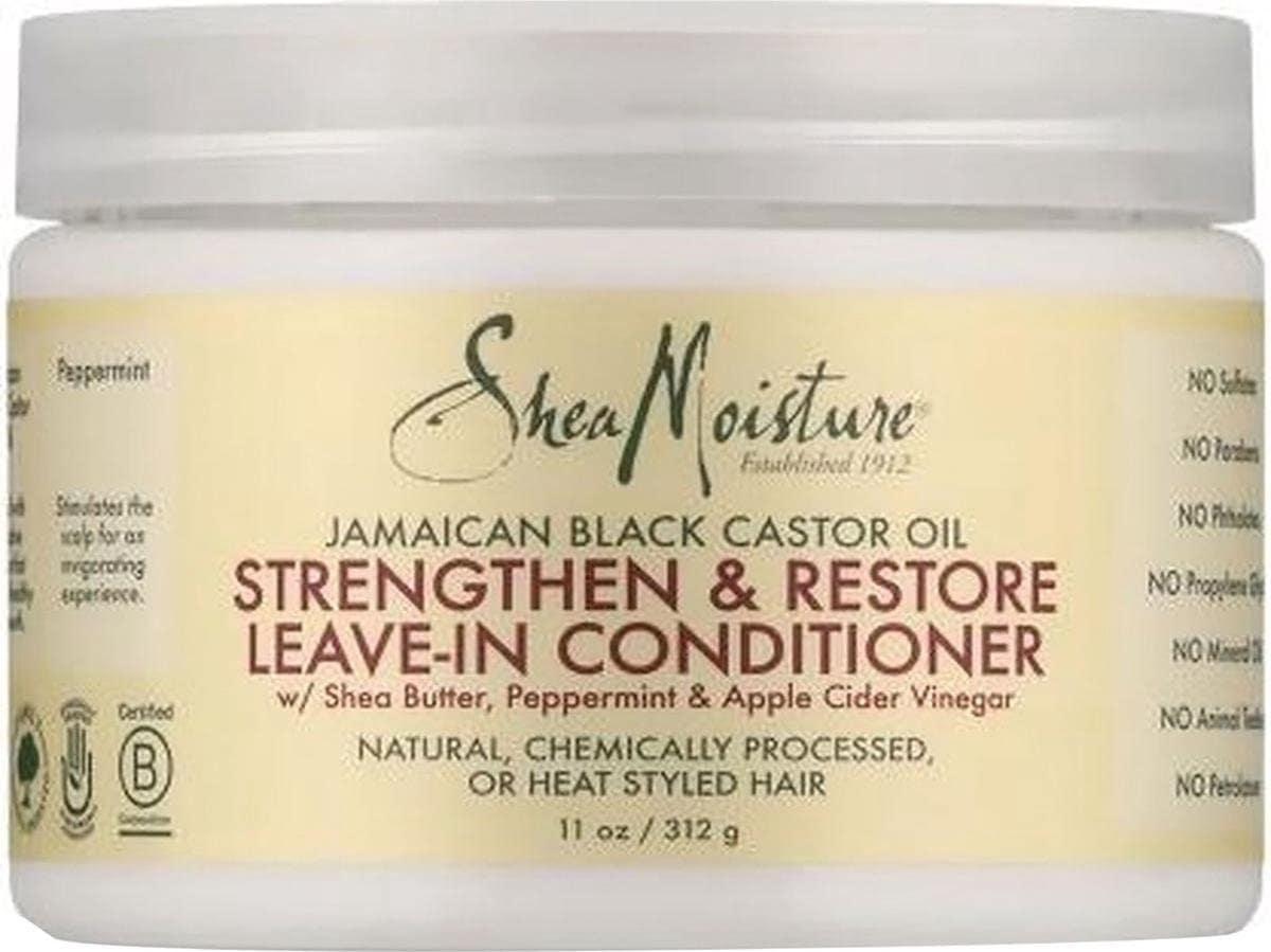 Jamaican Black Castor oil in pot, vooraanzicht