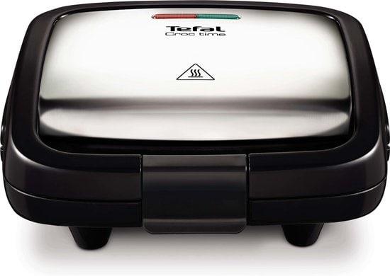 Tefal tosti-ijzer, dicht, vooraanzicht