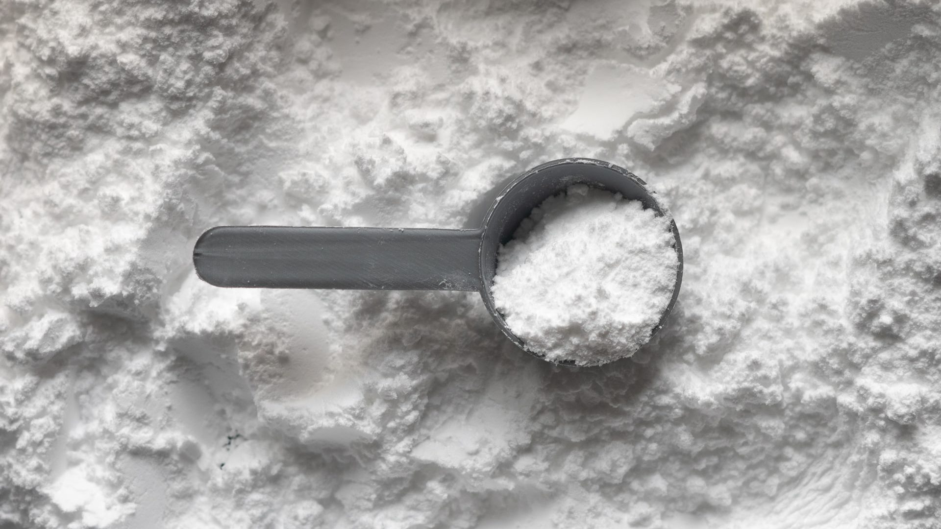 Schepje baking soda, bovenaanzicht