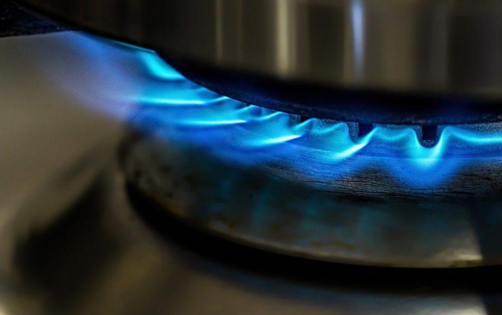 Kookpit op gasfornuis, vooraanzicht